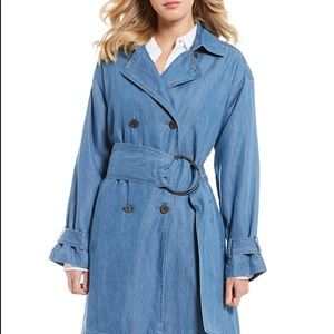 ⭐️🆕⭐️NWT Kenneth Cole New York Chic Trench Coat
